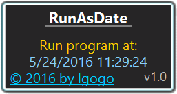 Click to view RunAsDate screenshots